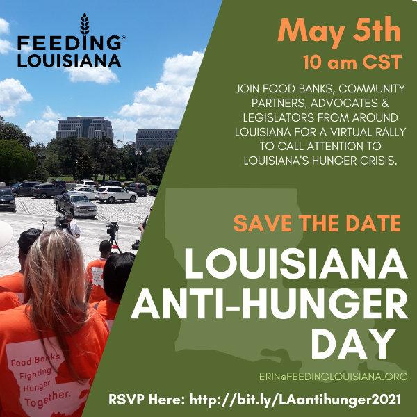 Louisiana Anto-Hunger Day