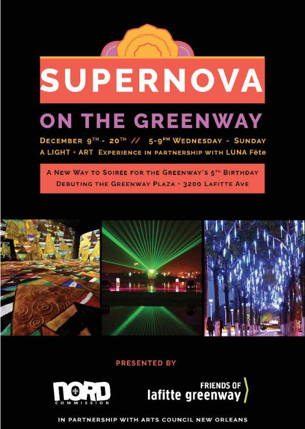 Supernova on the Greenway