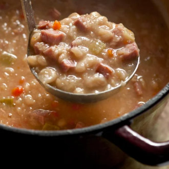 Ashley's Dad's White Bean and Ham Soup